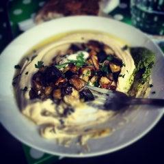 Photo taken at Reggev Hummus by Johan W. on 7/7/2012