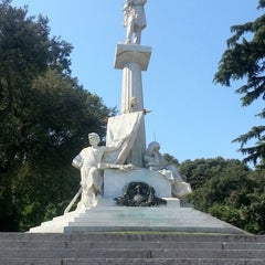 Photo taken at Piazzale mazzini by Nataly on 8/14/2012
