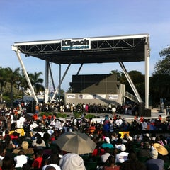 Photo taken at Bayfront Park Amphitheater by Wesner F. on 4/1/2012