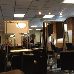 Photo taken at Swerve Salon by Taylor F. on 4/28/2012