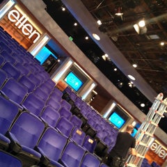 Photo taken at The Ellen DeGeneres Show by Mike F. on 4/18/2012