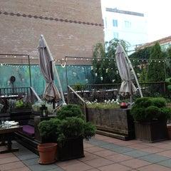Photo taken at MyMoon Restaurant by Monika N. on 7/25/2012