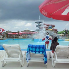 Photo taken at Gulf Islands Waterpark by Amy M. on 6/28/2012