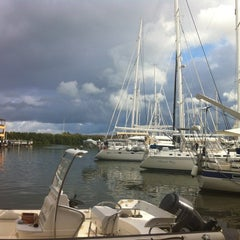 Photo taken at Simpson Bay Resort & Marina by Diana S. on 4/22/2012