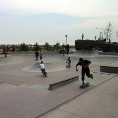 Photo taken at Far Rockaway Skatepark by Mike L. on 5/26/2012