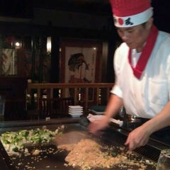 Photo taken at Hana Japanese Steakhouse and Sushi Bar by Kt C. on 9/8/2012