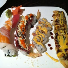 Photo taken at Mr. Sushi by Nikki@ProjectSocialize on 9/1/2012