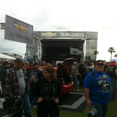 Photo taken at Team Chevy @ Daytona 500 by Gary D. on 2/26/2012
