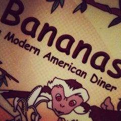 Photo taken at Bananas Modern American Diner by Stefanie D. on 6/7/2012