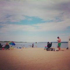 Photo taken at Presque Isle Beach 11 by Steve J. on 7/25/2012