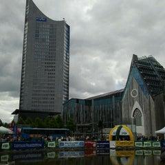 Photo taken at Augustusplatz by Percy G. on 5/13/2012