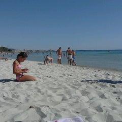 Photo taken at Lido di Alghero by Irene P. on 7/4/2012