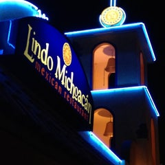 Photo taken at The Original Lindo Michoacan by Allen S. on 5/12/2012
