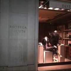 Photo taken at Bottega Veneta by Ahmed R. on 9/3/2012