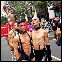 Photo taken at World Pride London 2012 by Fabien B. on 7/7/2012