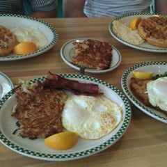 Photo taken at Magnolia Pancake Haus by Christina L. on 6/10/2012