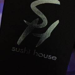 Photo taken at Sushi House by Sabdy P. on 2/5/2012