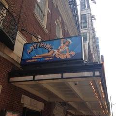 Photo taken at Stephen Sondheim Theatre by Irene N. on 5/16/2012