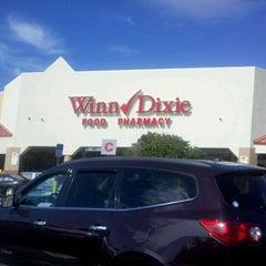 Photo taken at Winn-Dixie by Karen M. on 2/13/2012