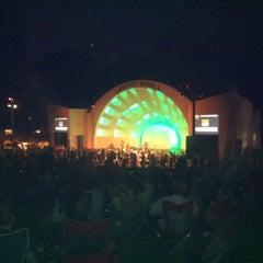 Photo taken at Levitt Shell by Jessica G. on 5/19/2012