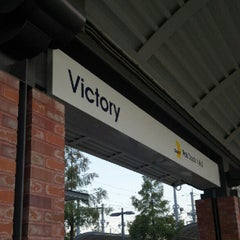 Photo taken at Victory Station (DART Rail / TRE) by Demont D. on 8/3/2012