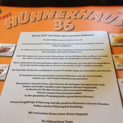 Photo taken at Hühnerhaus 36 Flagshipstore by Ronny RayJay S. on 6/26/2012