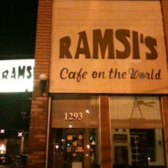 Photo taken at Ramsi's Cafe On the World by Brian D. on 7/30/2012