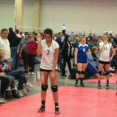 Photo taken at Volleyball Institute of Plano by Ron I. on 2/11/2012