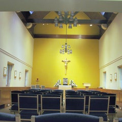 Photo taken at Chapel Of The Sacred Heart (University of Scranton) by The University of Scranton on 6/4/2012