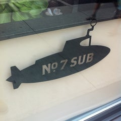 Photo taken at No. 7 Sub by James B. on 3/14/2012