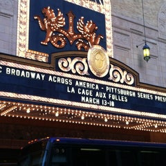 Photo taken at Benedum Center for the Performing Arts by Mark S. on 3/13/2012