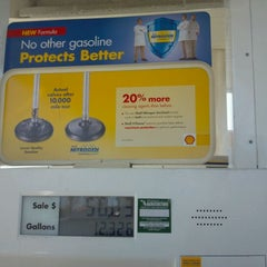 Photo taken at Shell by DRR on 3/21/2012