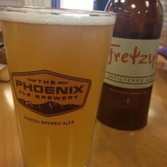 Photo taken at The Phoenix Ale Brewery by Mark K. on 4/28/2012