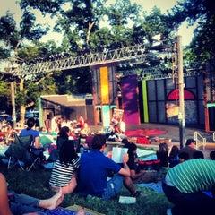 Photo taken at Beverly S. Sheffield Zilker Hillside Theater by Dan M. on 5/27/2012