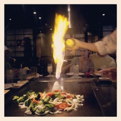 Photo taken at Kobe Japanese Steakhouse & Sushi Bar by Kellee M. on 7/1/2012
