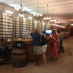Photo taken at Megalomaniac Winery by Sarah G. on 6/30/2012