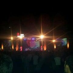 Photo taken at Stadion Kridosono by Hadi P. on 3/31/2012