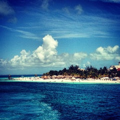 Photo taken at Isla Mujeres by Jerry M. on 8/11/2012
