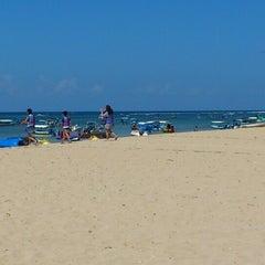 Photo taken at Tanjung Benoa Beach by Vania C. on 8/1/2012
