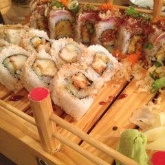 Photo taken at Wasabi Sushi Bar by Ken M. on 2/21/2012