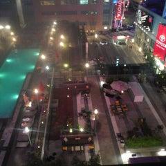 Photo taken at JW Marriott LA Live by Ashley B. on 9/3/2012