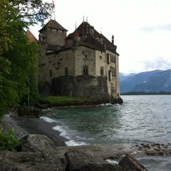 Photo taken at Château de Chillon by Juanma on 6/5/2012