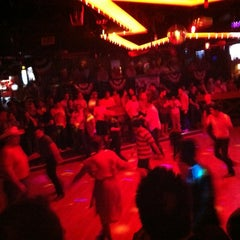 Photo taken at Round-Up Saloon and Dance Hall by Carlos C. on 7/15/2012