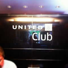 Photo taken at United Club by Mayumi I. on 4/2/2012