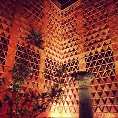 Photo taken at Museo Textil De Oaxaca by Ponch V. on 3/24/2012