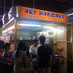 Photo taken at Aki Pancake by C.K. O. on 8/21/2012