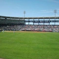 Photo taken at George M. Steinbrenner Field by Scott K. on 3/4/2012