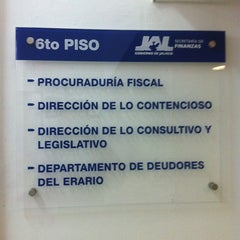 Photo taken at Secretaria de Finanzas by Ramses *. on 3/16/2012