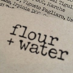 Photo taken at flour + water by Jeff Y. on 5/8/2012
