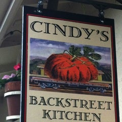 Photo taken at Cindy's Backstreet Kitchen by Pacific Union on 3/6/2012